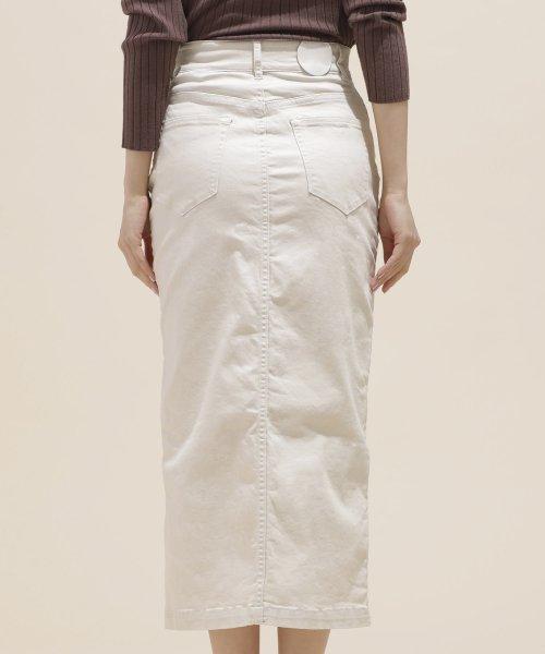 nano・universe(ナノ・ユニバース)/I-line slim fit skirt/6699130009_img09