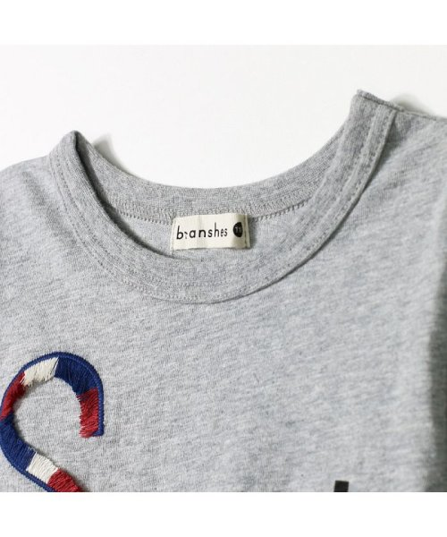 branshes(ブランシェス)/フリンジロゴデザイン長袖Tシャツ/119105382_img12