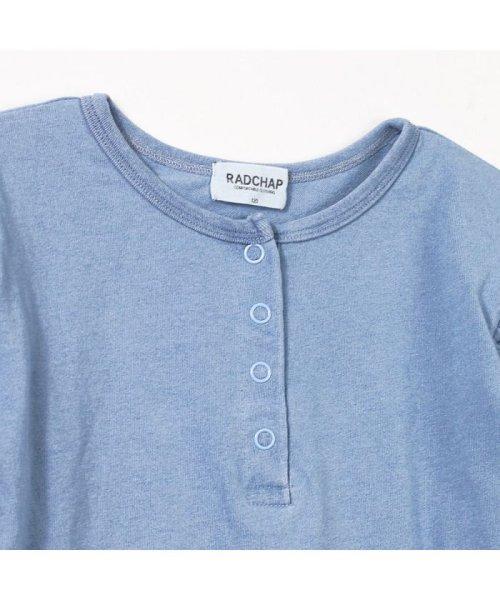 RADCHAP(ラッドチャップ)/インディゴ天竺長袖Tシャツ/429105056_img02
