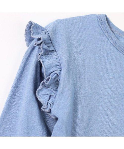 RADCHAP(ラッドチャップ)/インディゴ天竺長袖Tシャツ/429105056_img03