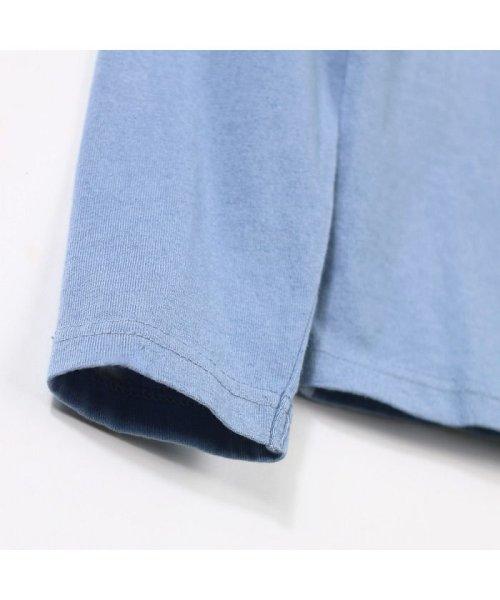 RADCHAP(ラッドチャップ)/インディゴ天竺長袖Tシャツ/429105056_img04