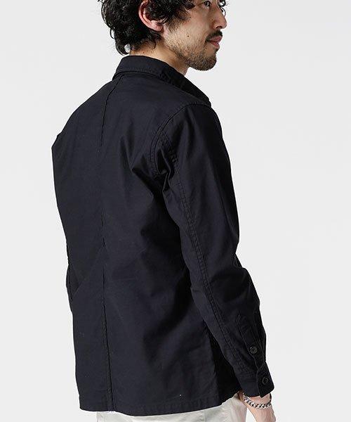 nano・universe(ナノ・ユニバース)/【WEB限定】バックサテンライトミリタリーシャツ/6749120022_img01