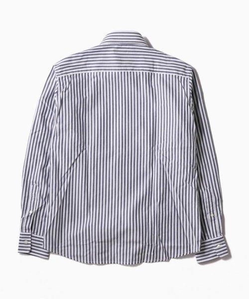 SHIPS MEN(シップス メン)/SC: レノクロス ストライプ セミワイドカラーシャツ/111100304_img03