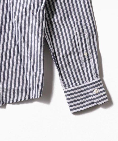 SHIPS MEN(シップス メン)/SC: レノクロス ストライプ セミワイドカラーシャツ/111100304_img06