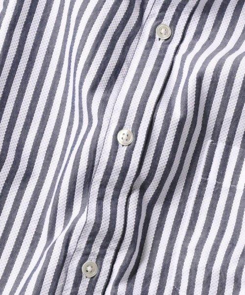 SHIPS MEN(シップス メン)/SC: レノクロス ストライプ セミワイドカラーシャツ/111100304_img08