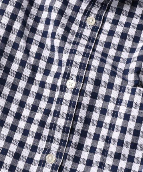 SHIPS MEN(シップス メン)/SC: レノクロス ストライプ セミワイドカラーシャツ/111100304_img09