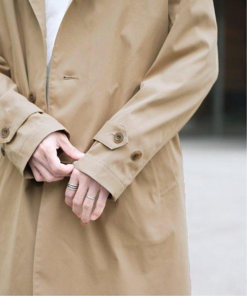 JOURNAL STANDARD relume Men's(ジャーナルスタンダード レリューム メンズ)/【ALTORITMO】 ツイルストレッチ ステンカラーコート/19020464000010_img10