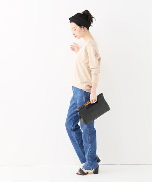 journal standard  L'essage (ジャーナルスタンダード レサージュ)/AZAREA Vネック◆/19080370750010_img02