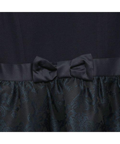 COMME CA ISM(コムサイズム)/コムサイズム COMME CA ISM 【結婚式 発表会にも活躍】花柄 ワンピース(140cm-160cm) (ネイビー)/CO3909EC06996_img02