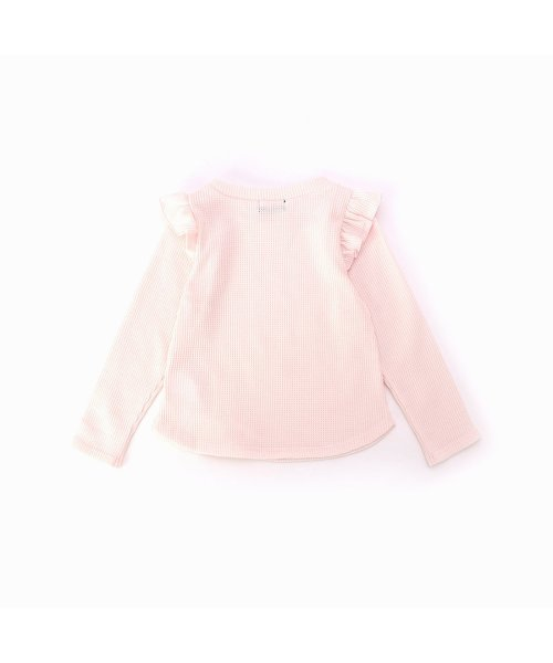 COMME CA ISM(コムサイズム)/コムサイズム COMME CA ISM ワッフルTシャツ (ピンク)/CO3909EC07990_img01
