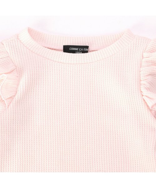 COMME CA ISM(コムサイズム)/コムサイズム COMME CA ISM ワッフルTシャツ (ピンク)/CO3909EC07990_img02