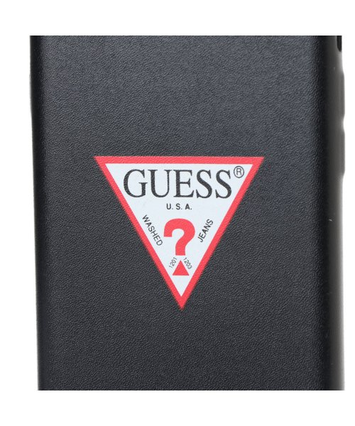 GUESS(ゲス)/ゲス GUESS PU LEATHER CASE TRIANGLE LOGO for iPhone8 (BLACK)【JAPAN EXCLUSIVE ITEM】/GU1432DM12718_img02
