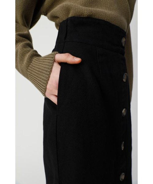 moussy(マウジー)/FRONT BUTTON NARROW スカート/010CSW30-1410_img06