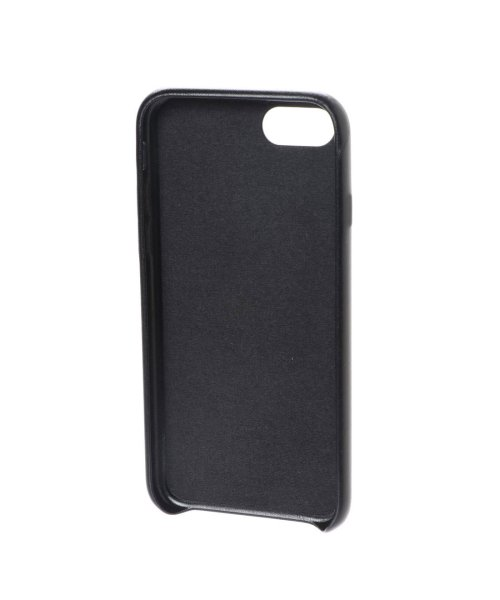 GUESS(ゲス)/ゲス GUESS PU LEATHER CASE TRIANGLE LOGO for iPhone8 (BLACK)【JAPAN EXCLUSIVE ITEM】/GU1432DM12718_img01