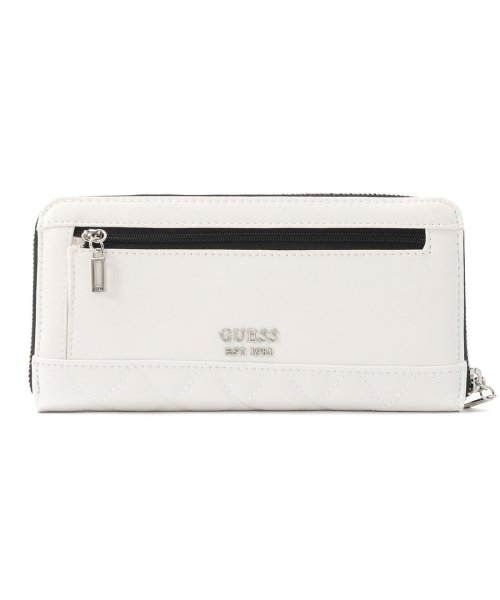 GUESS(ゲス)/ゲス GUESS SWEET CANDY LARGE ZIP AROUND WALLET (WHITE MULTI)/GU1432DW13622_img02