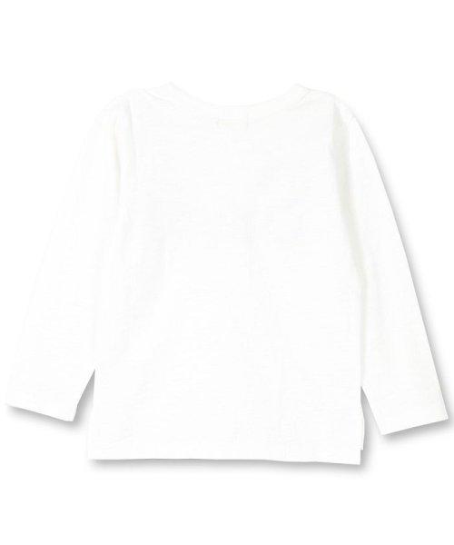 branshes(ブランシェス)/フリンジロゴデザイン長袖Tシャツ/119105382_img01