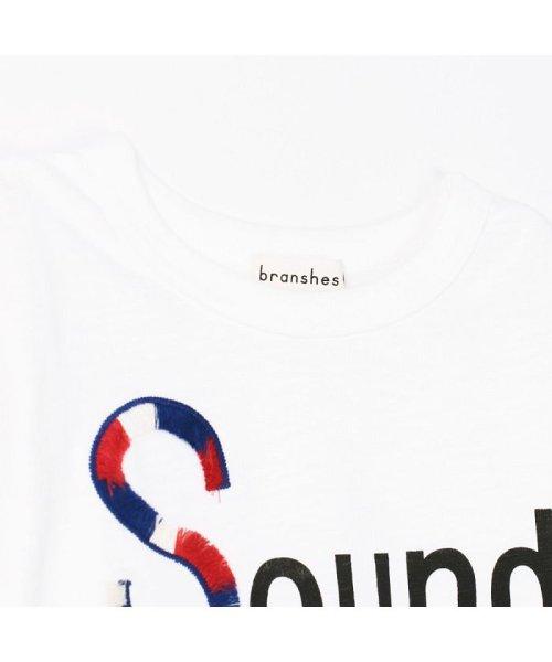 branshes(ブランシェス)/フリンジロゴデザイン長袖Tシャツ/119105382_img02