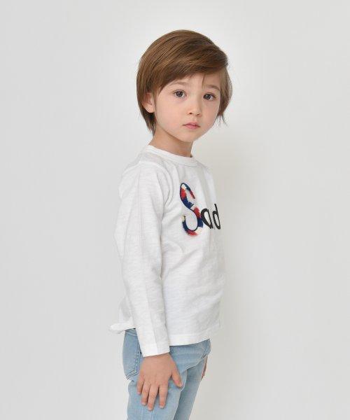 branshes(ブランシェス)/フリンジロゴデザイン長袖Tシャツ/119105382_img06