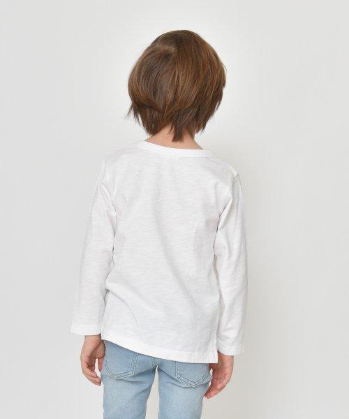 branshes(ブランシェス)/フリンジロゴデザイン長袖Tシャツ/119105382_img07