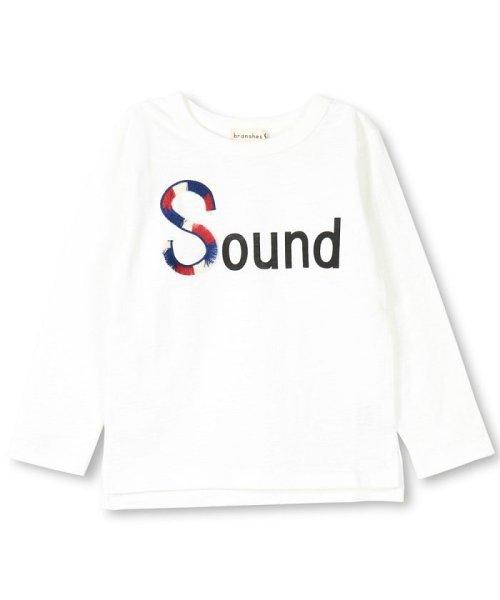 branshes(ブランシェス)/フリンジロゴデザイン長袖Tシャツ/119105382_img16