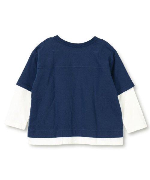 branshes(ブランシェス)/重ね着風長袖Tシャツ(80~150cm)/119105383_img01