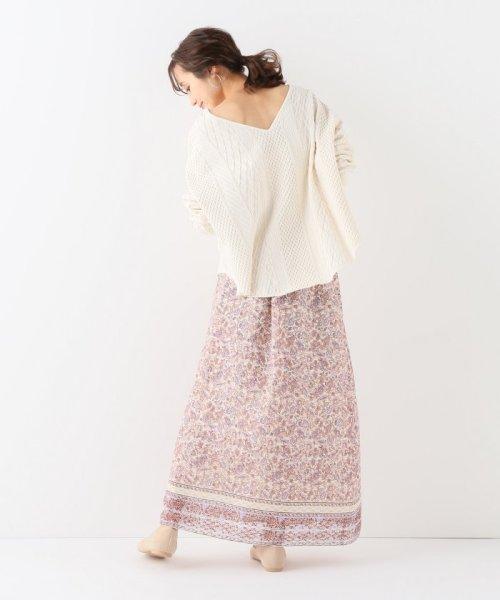 SLOBE IENA(スローブ イエナ)/ノスタルジックフラワー巻きスカート/19060912200010_img02