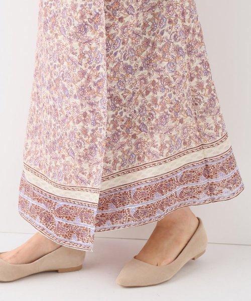 SLOBE IENA(スローブ イエナ)/ノスタルジックフラワー巻きスカート/19060912200010_img10