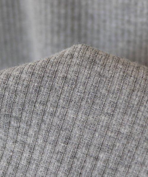 and Me...(アンドミー)/【B-1】リブニット Vネック 長袖 Tシャツ カットソー トップス/6000608_img16