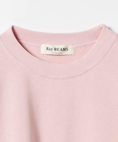 Ray BEAMS(レイビームス)/Ray BEAMS / パステルカラー スウェット クルーネック/63130044101_img09