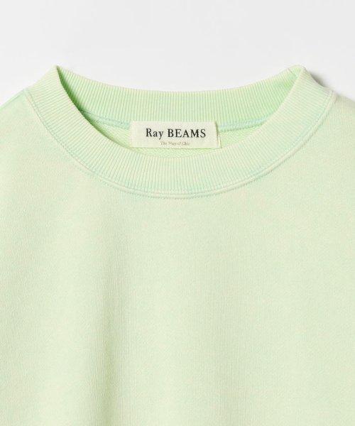 Ray BEAMS(レイビームス)/Ray BEAMS / パステルカラー スウェット クルーネック/63130044101_img14