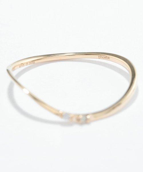 Phoebe(フィービィー)/【K10】ツイスティーダイヤモンドリング/501911351_img07