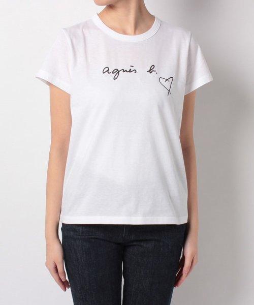 agnes b. FEMME(アニエスベー ファム)/【WEB限定】SBX4 TS ロゴTシャツ/2653SBX4E19_img01
