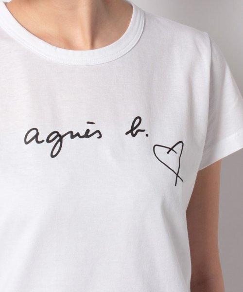 agnes b. FEMME(アニエスベー ファム)/【WEB限定】SBX4 TS ロゴTシャツ/2653SBX4E19_img04