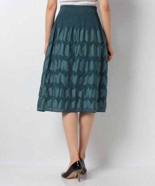 LAPINE BLANCHE(ラピーヌ ブランシュ)/シャーリングパネルジャカードスカート/159025_img02