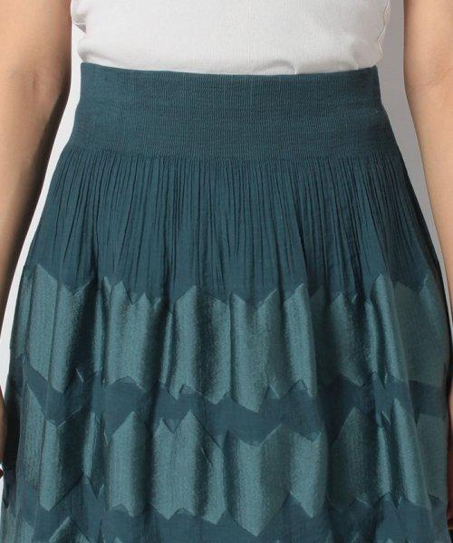 LAPINE BLANCHE(ラピーヌ ブランシュ)/シャーリングパネルジャカードスカート/159025_img03