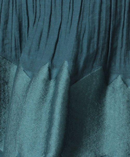 LAPINE BLANCHE(ラピーヌ ブランシュ)/シャーリングパネルジャカードスカート/159025_img04