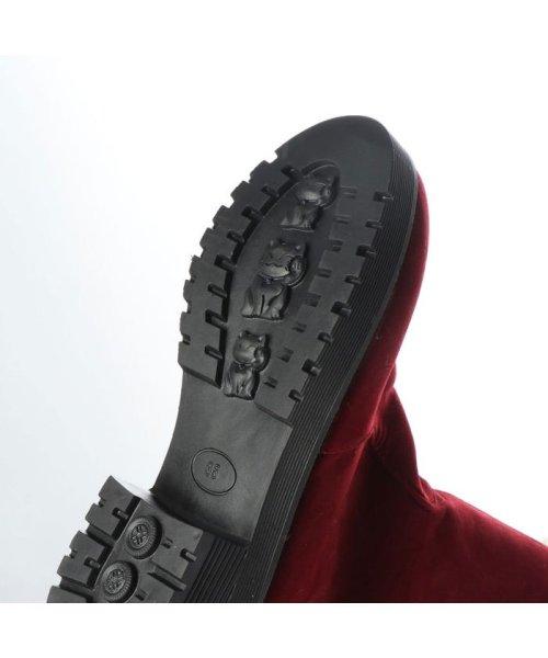 STYLEBLOCK(スタイルブロック)/スタイルブロック STYLEBLOCK 裏ボアスエード調タッセル付ブーツ (レッド)/ST4819BW19409_img04