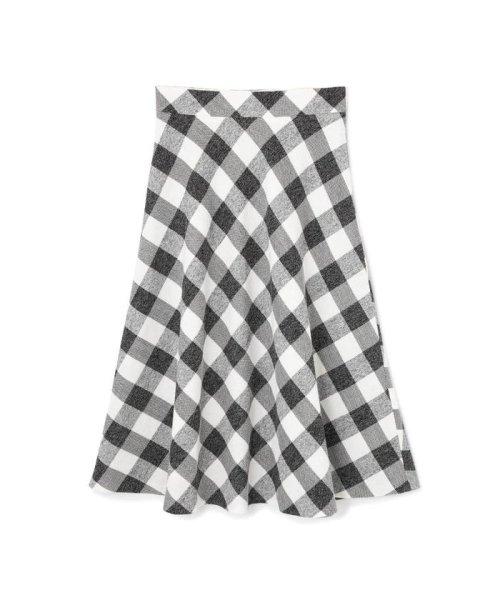 PROPORTION BODY DRESSING(プロポーション ボディドレッシング)/ギンガムチェックフレアートスカート/1219120404_img02