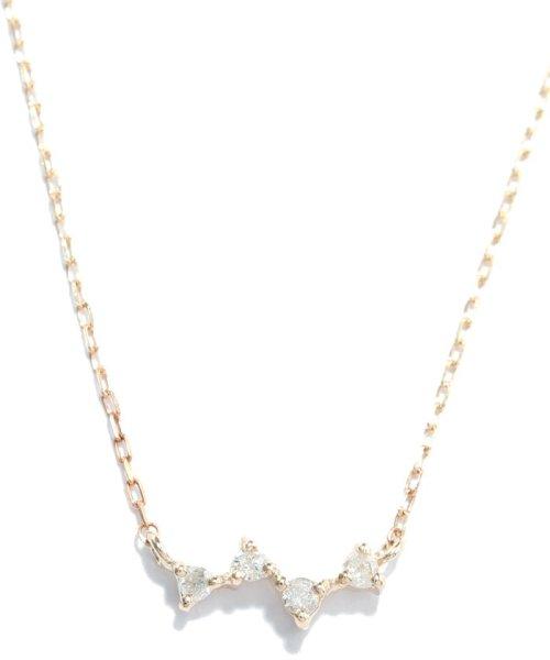 Phoebe(フィービィー)/【K10】スパークルダイヤモンドネックレス/501911152_img06
