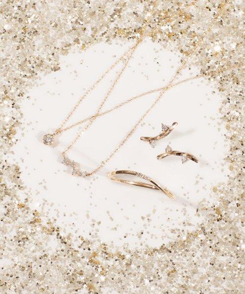 Phoebe(フィービィー)/【K10】ツイスティーダイヤモンドリング/501911351_img03