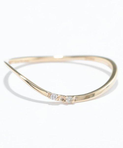 Phoebe(フィービィー)/【K10】ツイスティーダイヤモンドリング/501911351_img04
