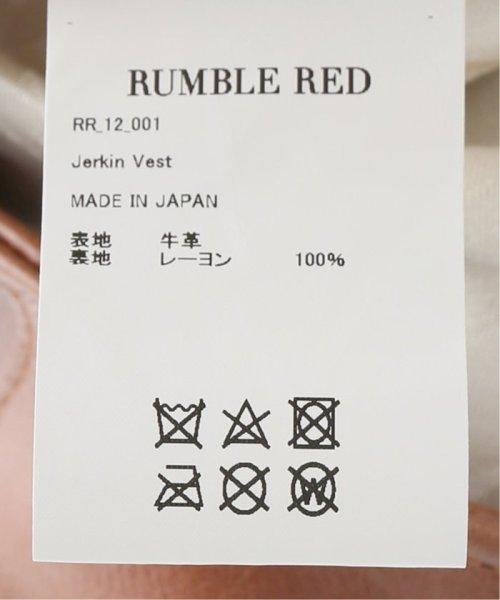 FRAMEWORK(フレームワーク)/RUMBLE RED Jerkinベスト◆/19011230000610_img13