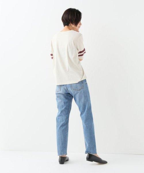 JOURNAL STANDARD relume(ジャーナルスタンダード レリューム)/コットンテンジク ソデライン Tシャツ/19070462110010_img02