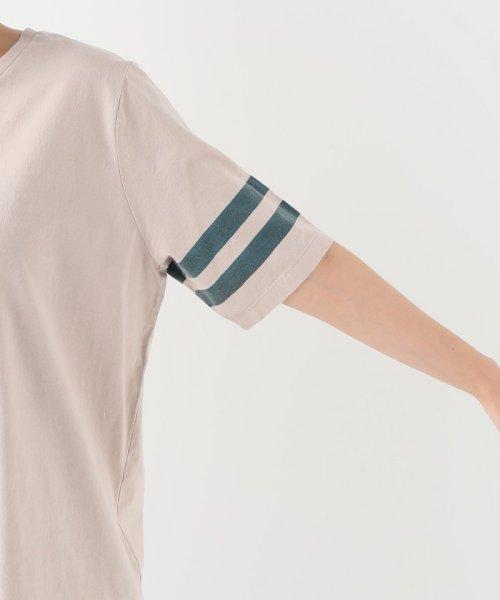 JOURNAL STANDARD relume(ジャーナルスタンダード レリューム)/コットンテンジク ソデライン Tシャツ/19070462110010_img06