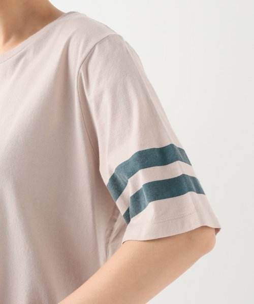 JOURNAL STANDARD relume(ジャーナルスタンダード レリューム)/コットンテンジク ソデライン Tシャツ/19070462110010_img07