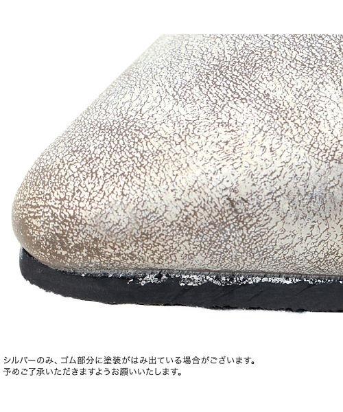Pierrot(ピエロ)/スタッズデザイン フラットシューズ☆ スクエアカット ポインテッドトゥ スタッズ フラットシューズ 靴 ローヒール 上品 スムース SM L LL Pierro/g1805-043320_img07