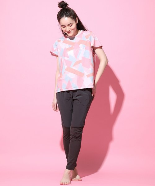 NERGY(ナージー)/ブロッキングPT Tシャツ/NJM19140_img02