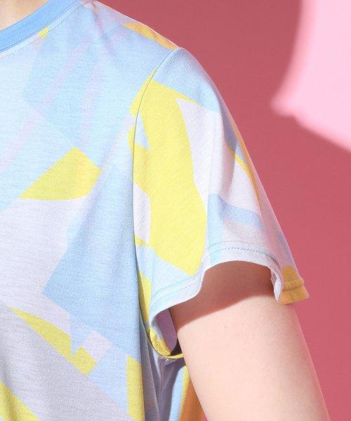 NERGY(ナージー)/ブロッキングPT Tシャツ/NJM19140_img06