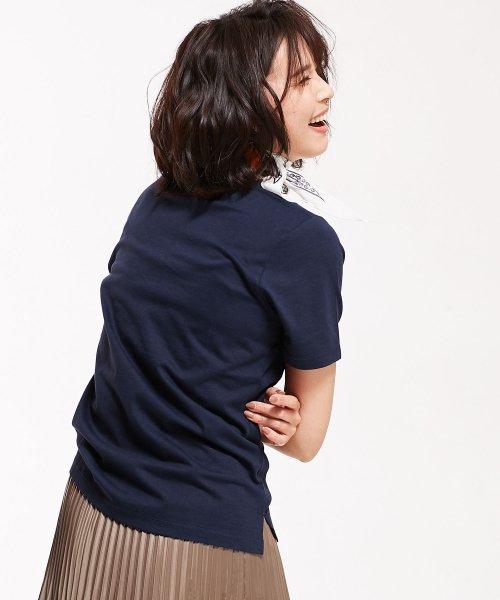 nano・universe(ナノ・ユニバース)/【STORY 6月号掲載】Anti Soaked 30/-クルーネックTシャツ/6699124003_img14