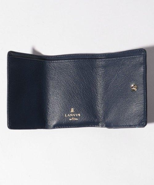 LANVIN en Bleu(BAG)(ランバンオンブルー(バッグ))/ロシェ 3つ折り財布/482582_img03